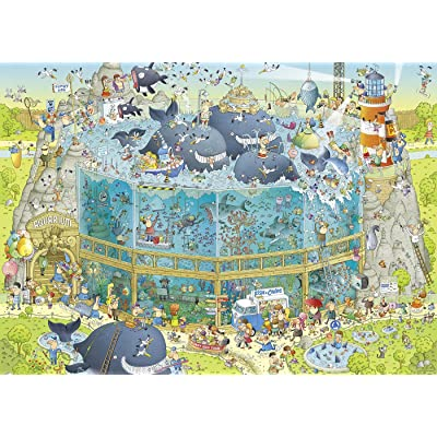 Heye 29777 Ocean Habitat - Puzzle (1000 Piezas): Juguetes y juegos