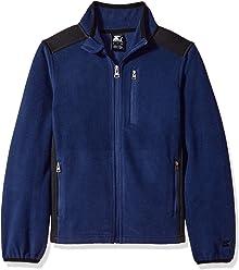 Starter Boys' Polar Fleece Jacket, Amazon Exclusive