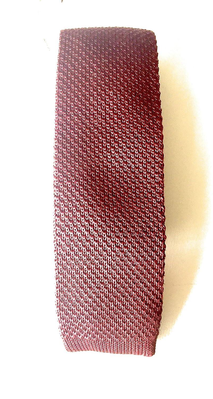 Skinny Fired Brick Red Jack /& Jones JaCroding Knit Tie