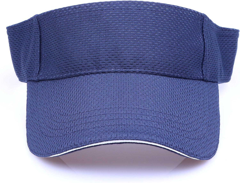 RufnTop Mesh Visor Sport Headband Athletic Sportswear Runing /& Outdoor Activities for Unisex Cap
