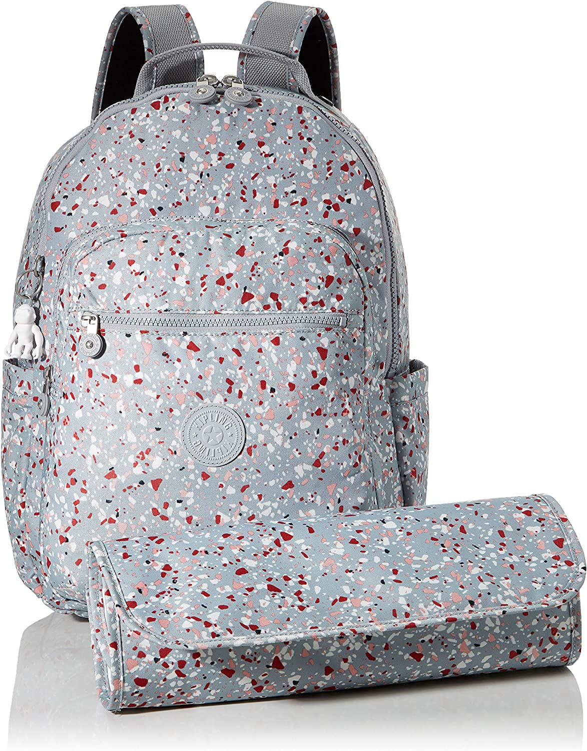 Kipling Seoul Baby Luggage, 24 L, Night Grey Multicolour (Speckled)