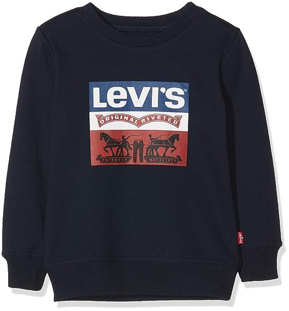 56a0a5fa3 Levi s kids Sweat Shirt Nm15047 Nm15047 - Sudadera Niños  Amazon.es  Ropa y  accesorios