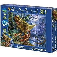 Clementoni 39261 3D Dinosaur 1000 Parça Puzzle