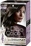 Pro Color Schwarzkopf Coloration Permanente Châtain Glacé 4.3