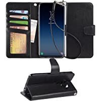 Arae Galaxy S9 plus PU leather Wallet Case