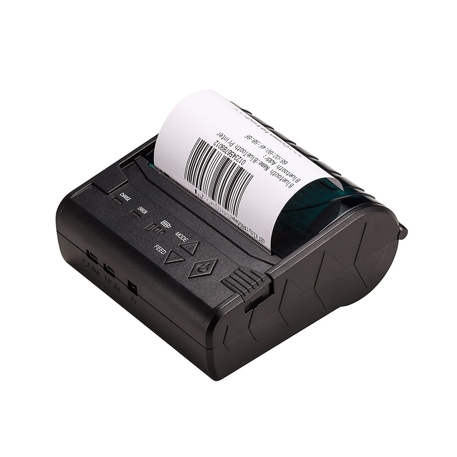 ZKTeco 58mm Mini Tragbar POS Drucker Bluetooth Thermodrucker Kassendrucker Bondrucker POS Receipt Thermal Printer ZKTeco CO. LTD 5808