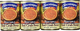 product image for Chincoteague Seafood Vegetable Red Crab Soup, 15-Ounce Cans (Pack of 12)