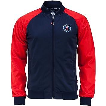 Chaqueta Zip Paris Saint Germain - para hombre, talla DE adulto, Hombre, azul, medium: Amazon.es: Deportes y aire libre