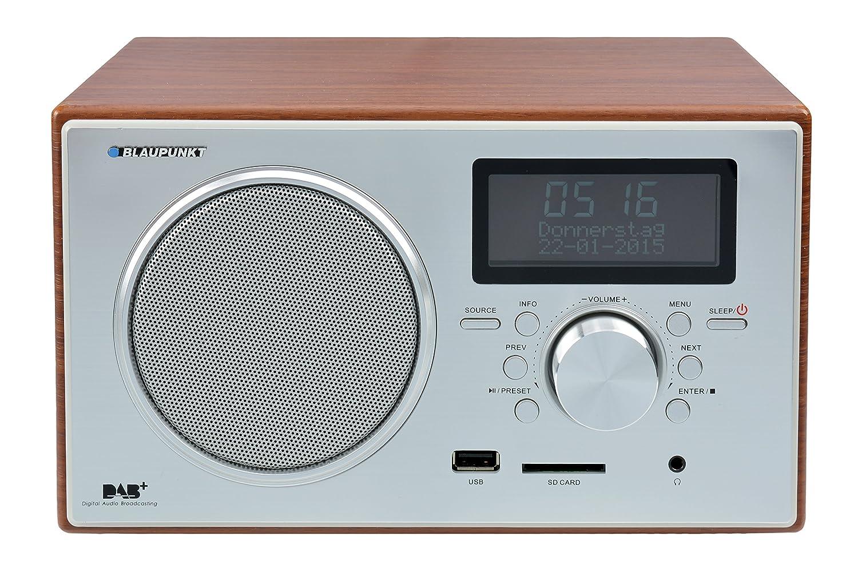 Schön Blaupunkt RX+ 35e Digitales DAB Radio, UKW, Großes LCD Display (USB, SD  Kartenleser, Weckerfunktion) Braun: Amazon.de: Heimkino, TV U0026 Video