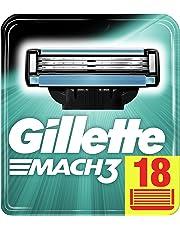 Gillette Mach3 Recambio De Maquinilla De Afeitar, Paquete Apto Para El Buzón De Correos- 18 Recambios