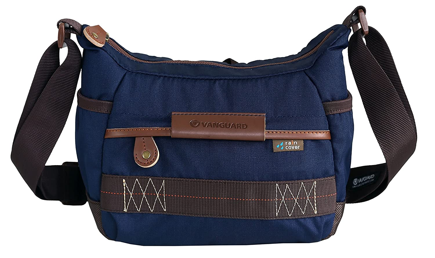 Vanguard Havana 21 Shoulder Bag Blue For Sony Nikon Canon Leather Denim Strap Kamera Mirrorless Dlsr Slr Fujifilm
