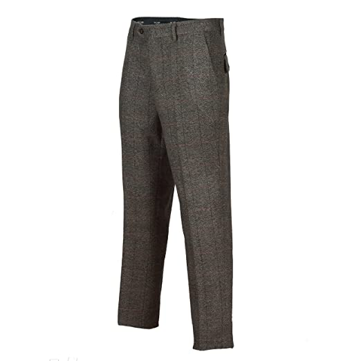 1920s Men's Pants, Trousers, Plus Fours, Knickers XPOSED Vintage Mens 3 Piece Grey Tweed Check Suit Blazer Waistcoat Trouser Sold as Tailored Separates £34.99 AT vintagedancer.com