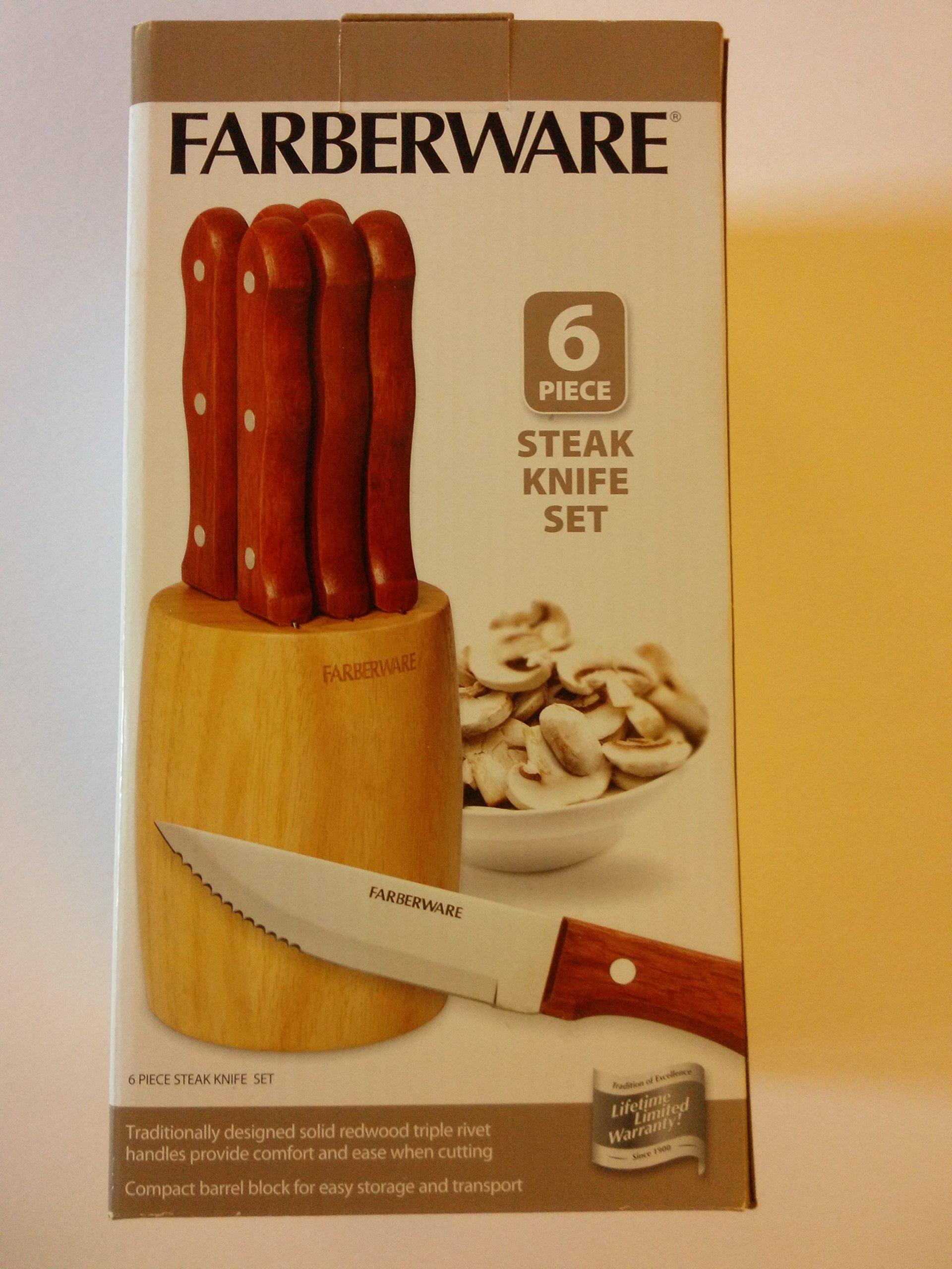 Farberware 6 Piece Steak Knife Set