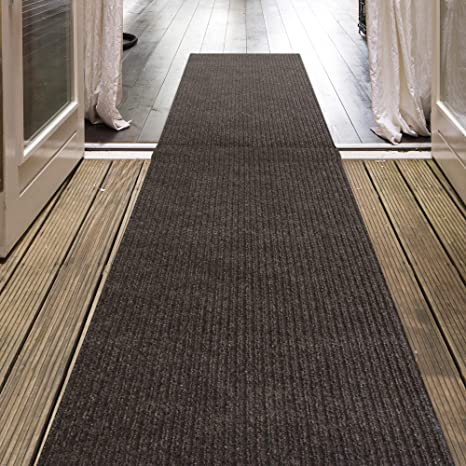Amazon Com Icustomrug Indoor Outdoor Utility Ribbed Carpet Runner