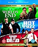 The World's End/Hot Fuzz/Shaun of the Dead [Blu-ray] [2004] [Region Free]