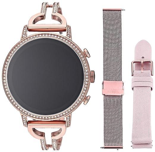 Amazon.com: Fossil FTW6030SET - Reloj de pulsera para mujer ...