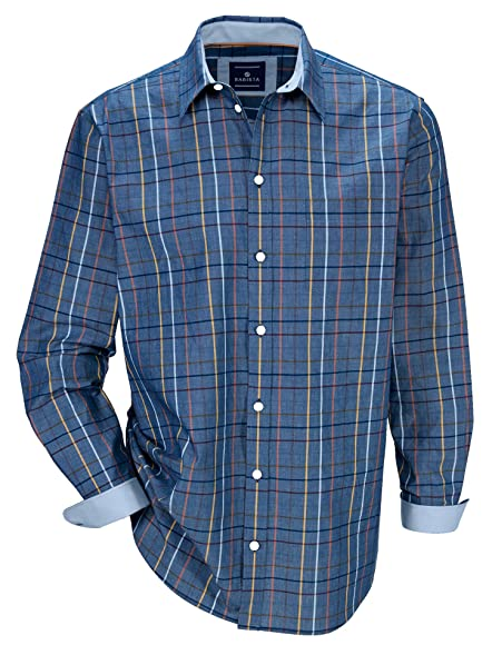 Herren Hemd Baumwolle aus reiner Baumwolle Atmungsaktiv by BABISTA   Amazon.de  Bekleidung a7105cc23d