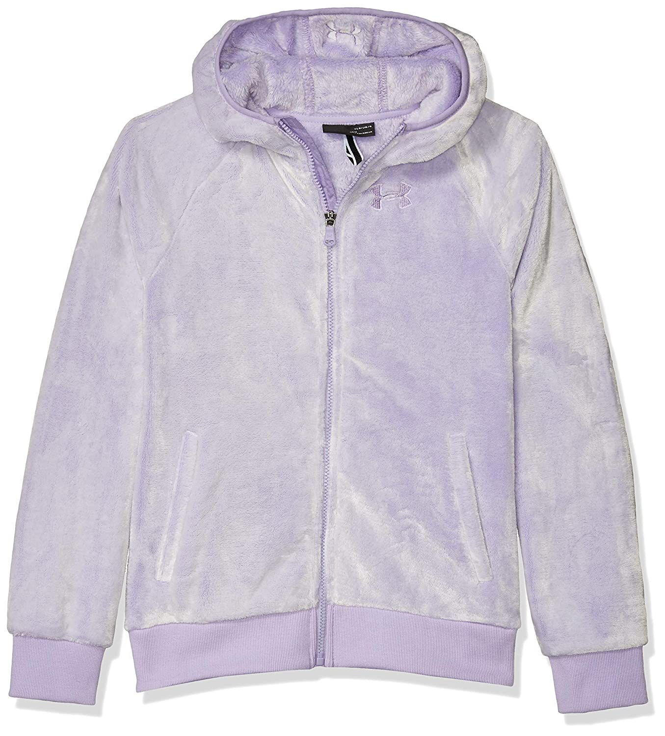 Under Armour Girls ColdGear Cozy Hooded Jacket with Pocket