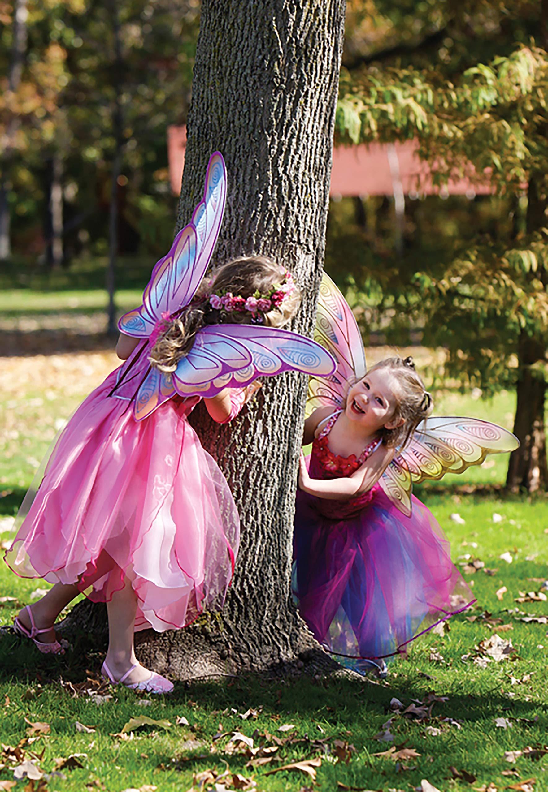 Great Pretenders Glitter Rainbow Wings, Multi (One Size)