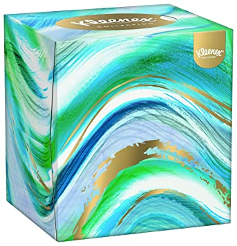 Kleenex Collection Cube 12 Boxes 56 Tissues Per Box 672 Tissues - The-beautiful-dot-and-cube-collections