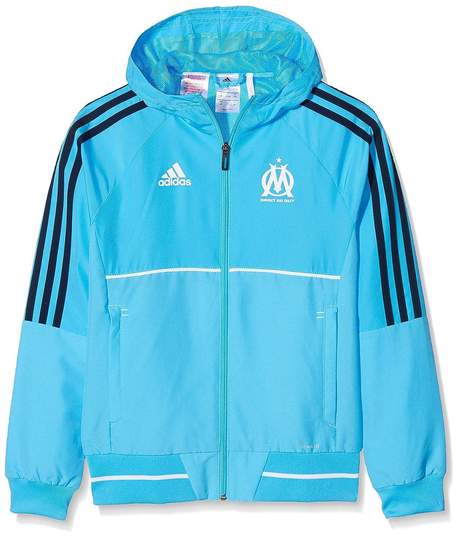 adidas Olympique Marseille Kinder Präsentationsjacke