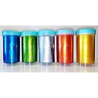 Airbrush Lebensmittelfarben 100ml metallic Speisefarbe (100ml silber metallic)