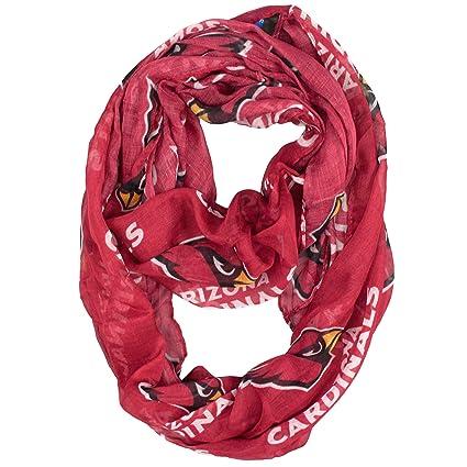 0af611c2cf50 Amazon.com   NFL Arizona Cardinals Sheer Infinity Scarf   Sports ...