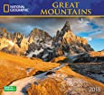 National Geographic Great Mountains 2018 Wall Calendar