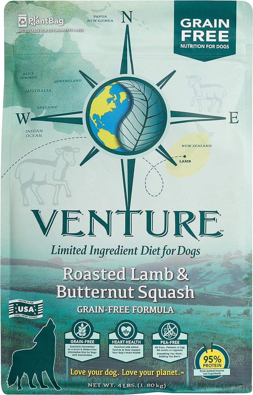 Earthborn Holistic Venture Roasted Lamb & Butternut Squash Grain Free Dry Dog Food