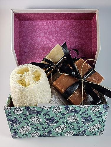 Amazon Com Spa Soap Gift Set Mother S Day Spa Gift Hemp Oil Soap