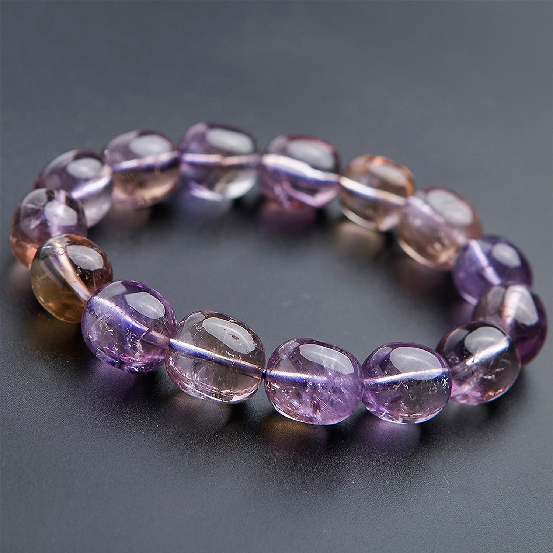 Full Strand Natural Ametrine Crystal Quartz NecklaceAmetrine Crystal Quartz BeadGift for HerGift for MomGirlfriend GiftAmetrine beads