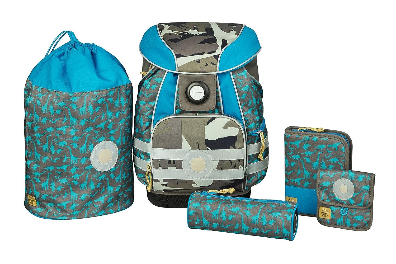 Lauml;ssig GmbH - Set de útiles escolares Niños, marrón (Varios colores) - LSCSET1118