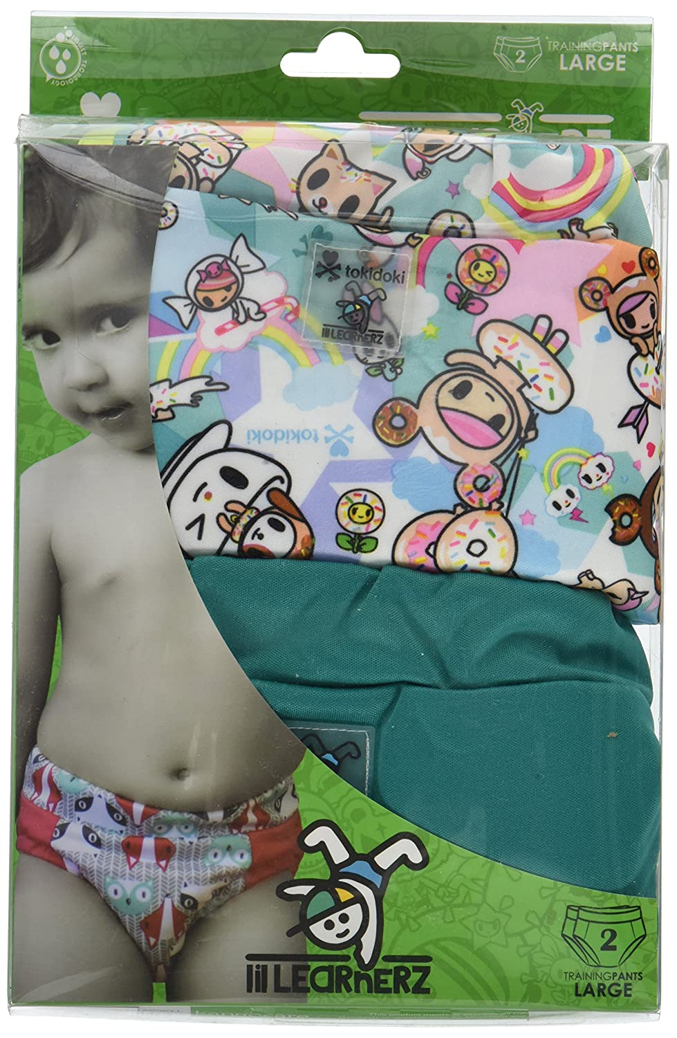 Kanga Care Lil Learnerz Training Nappies (Large, tokiSweet and Peacock) Danawares KRLLNZ_LG-M406