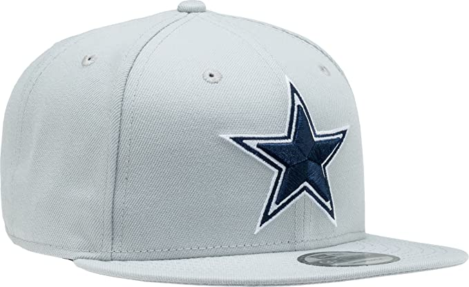 9b58b2410 Amazon.com: New Era Authentic DALLAS COWBOYS NFL Grey Gray NWT, 9fifty,  SnapBack : OSFM: Clothing