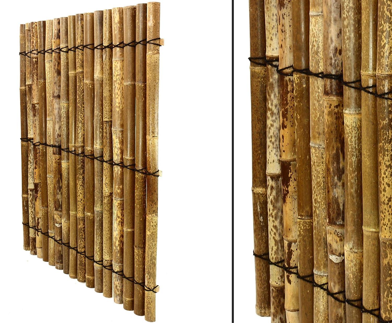 """Bambus Element """"Apas13"""" 150x120cm aus schwarz braunen halben"""