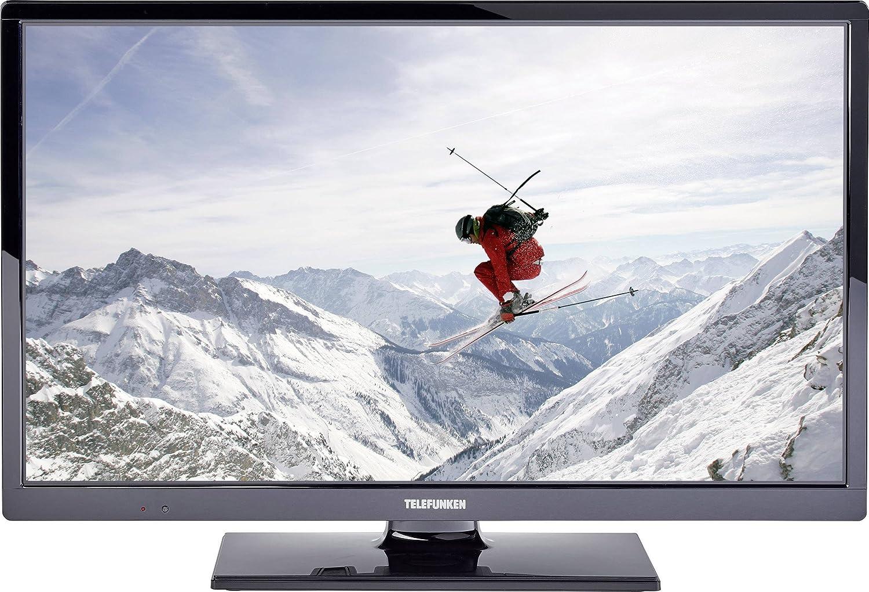Telefunken LED-TV 61cm 24 Zoll B24H340A EEK A+ DVB-T2, DVB-C, DVB-S, HD ready, CI+ negro: Amazon.es: Electrónica
