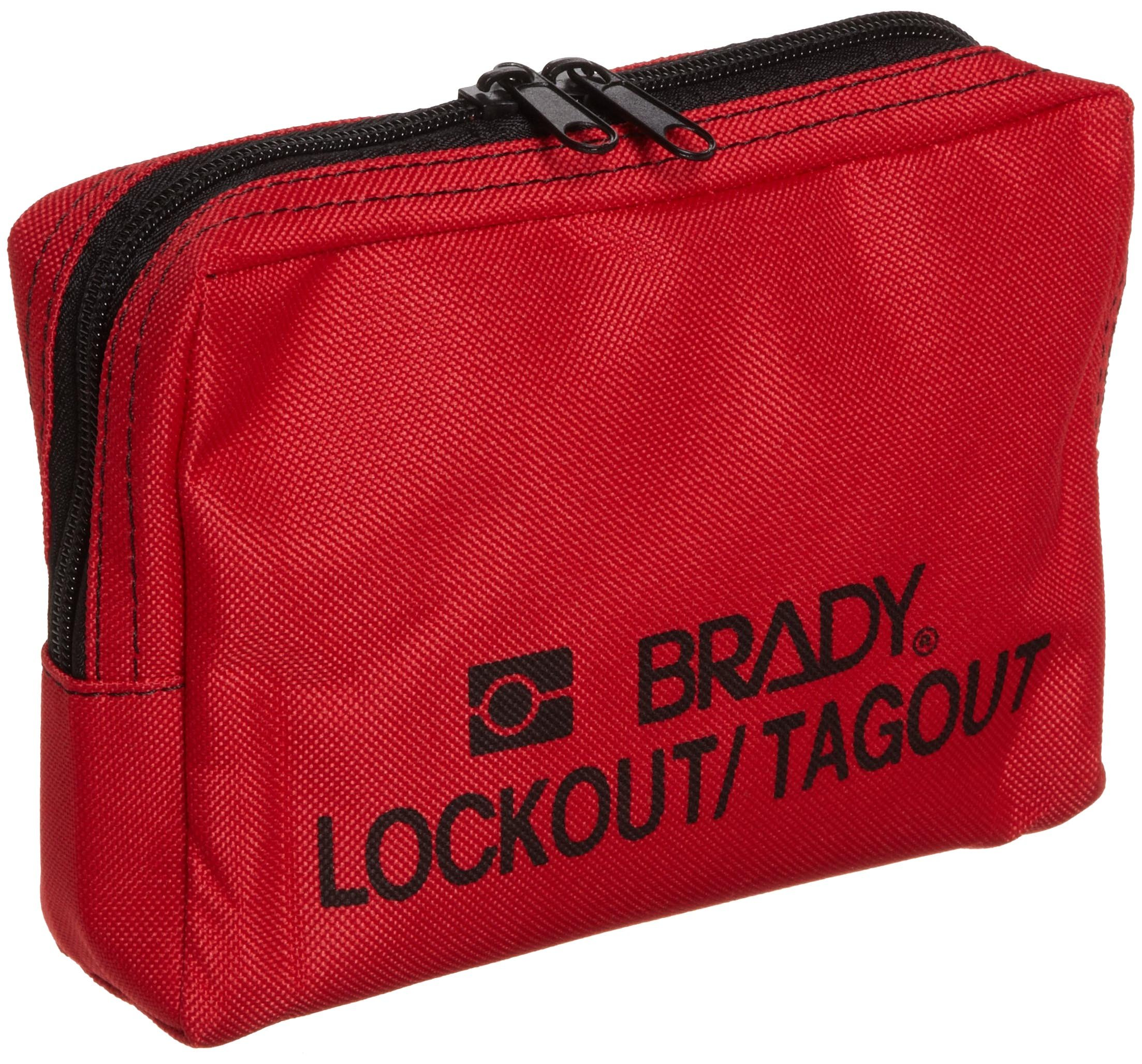 Brady Nylon Lockout Belt Pouch, Legend ''Brady Lockout / Tagout'' by Brady