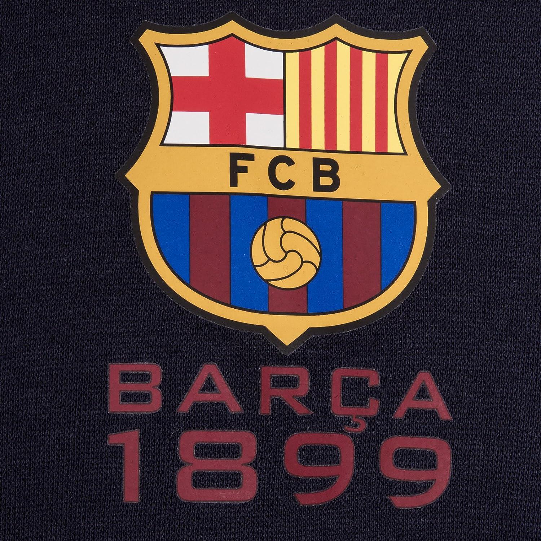 Offizielles Merchandise FC Barcelona Geschenk f/ür Fu/ßballfans Jungen Fleece-Sweatjacke
