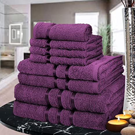 Luxury 100/% Egyptian Cotton Satin Stripe Bath Sheet Towel Face Hand Bath Bale