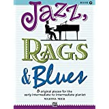 Jazz, Rags & Blues, Book 2 (Alfred's Basic Piano Library)