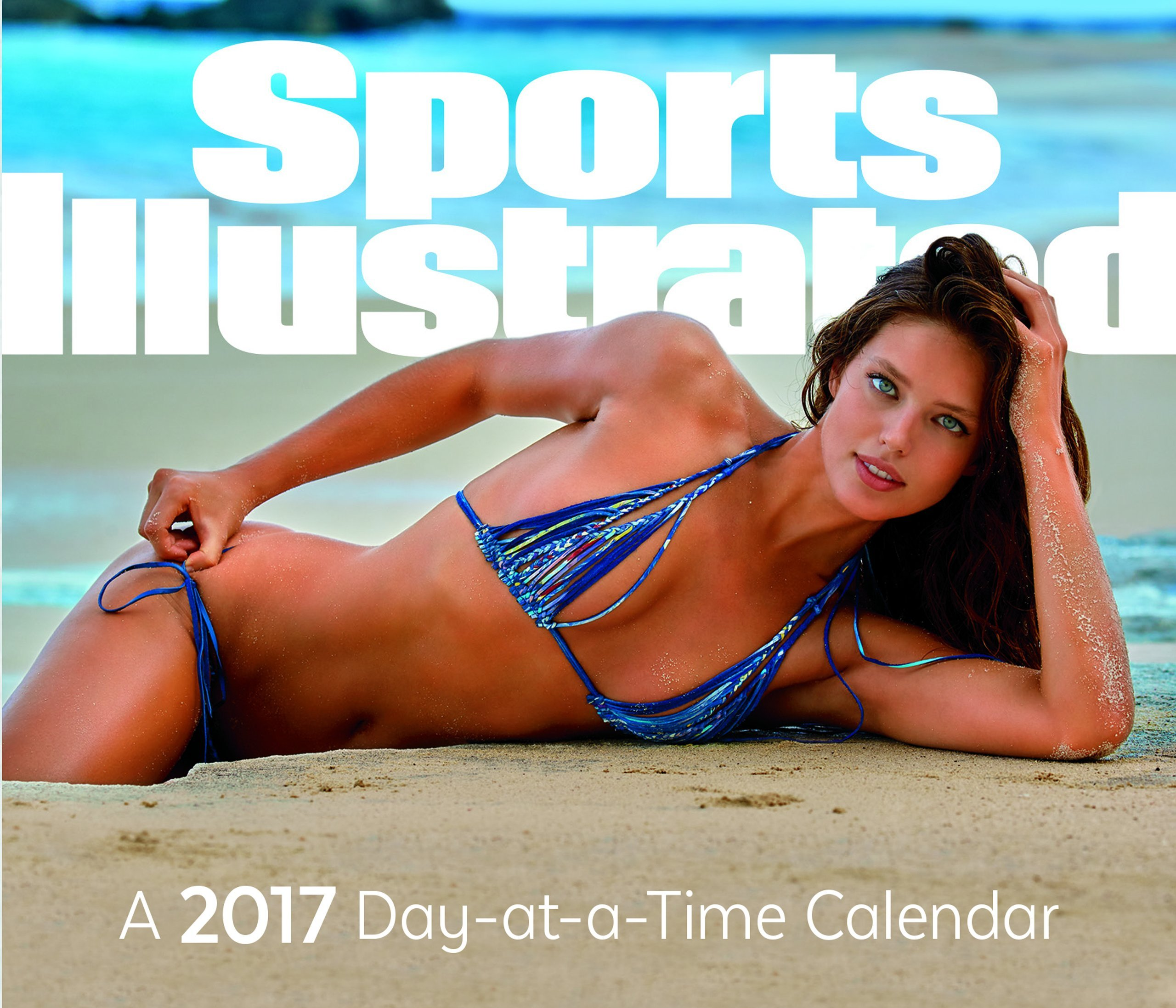 Trends International 2017 Day-at-a-Time Box Calendar, 6.125'' x 5.25''  x 1.5'', Sports Illustrated Swimsuit by Trends International Calendars