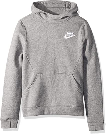 Authentic Mens Nike Air Sweatshirts Charcoal Heather Black