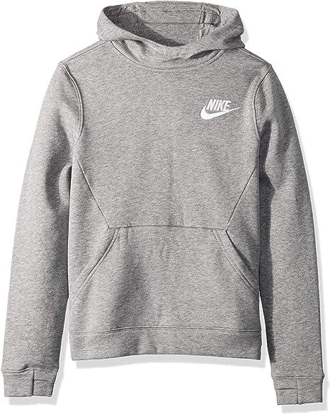 alta qualità Super carino acquista per ufficiale Amazon.com: NIKE Sportswear Boys' Club Pullover Hoodie: Clothing
