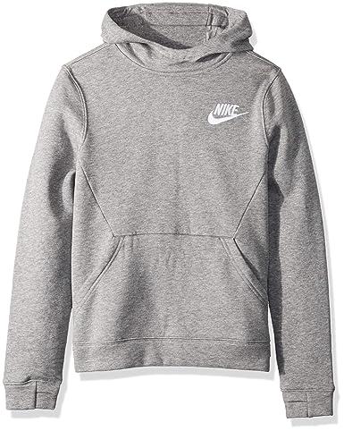 c985b8f4 Amazon.com: NIKE Sportswear Boys' Club Pullover Hoodie: Clothing