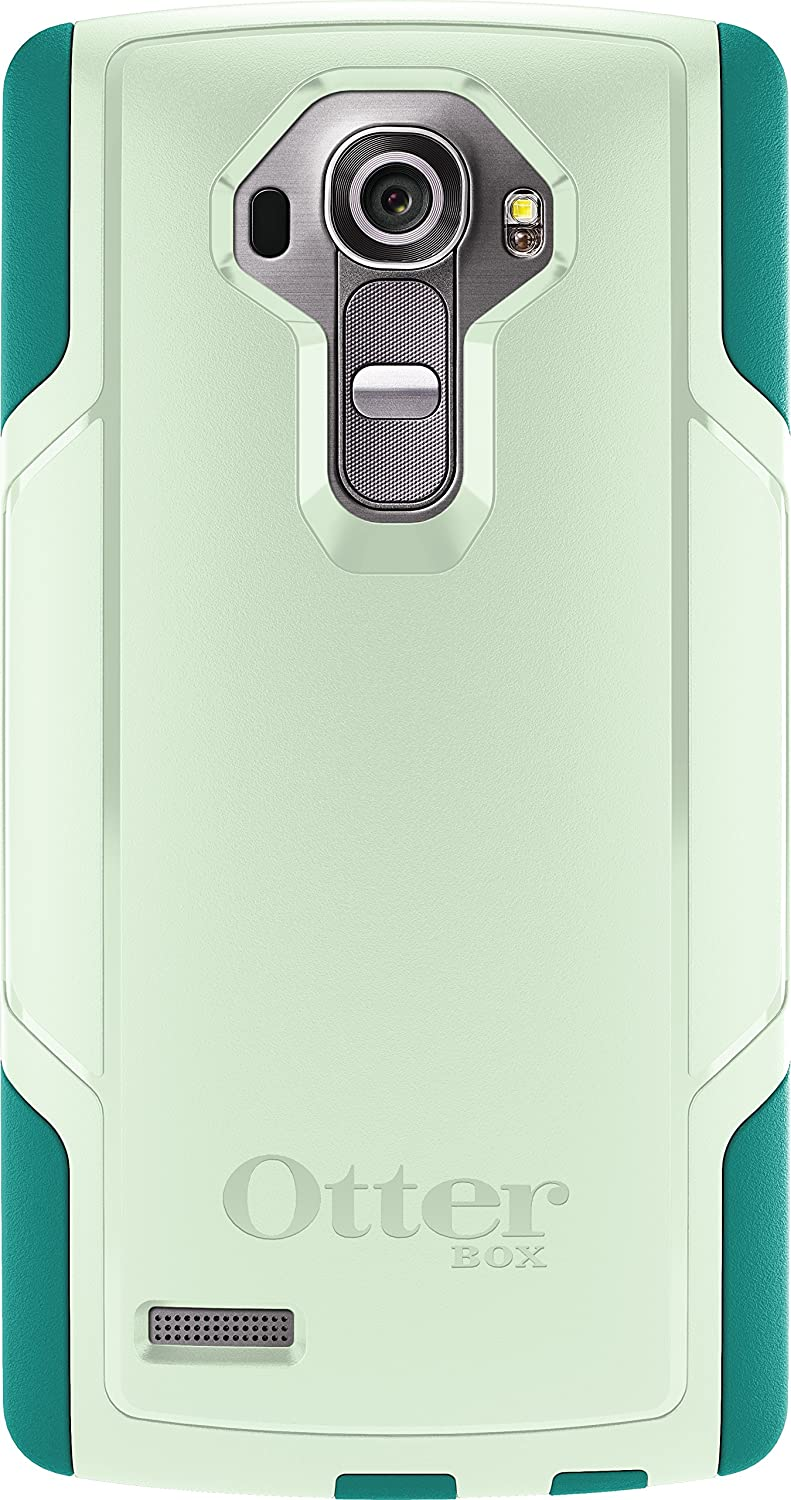 OtterBox Commuter Case for LG G4 - Retail Packaging - Sage Green/Light Teal (Not Compatible with Leather LG G4)