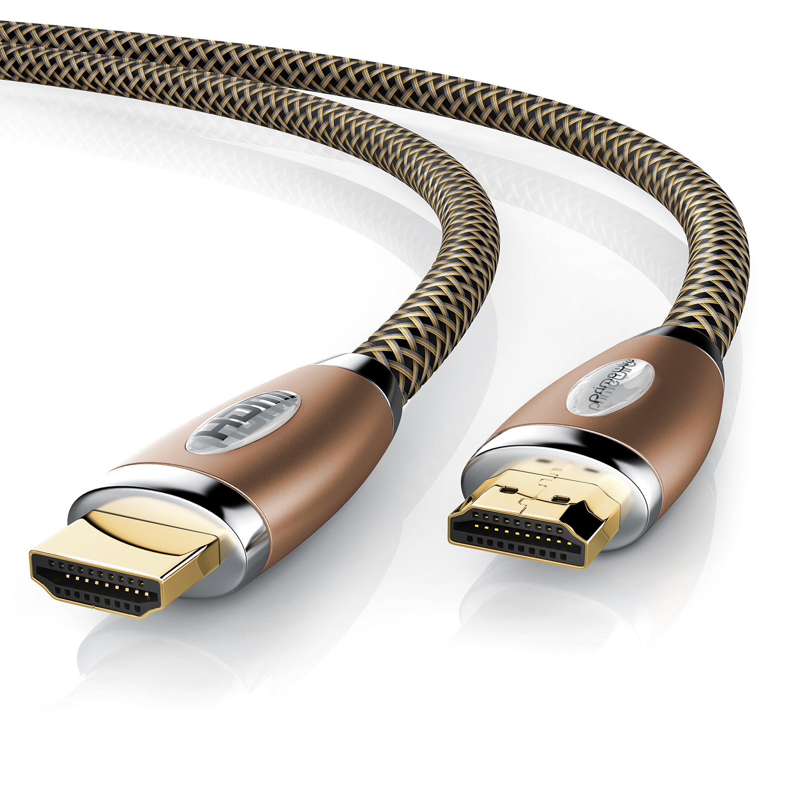 Primewire - 10m cable de HDMI - Ultra HD 4k HDMI | Alta velocidad con Ethernet