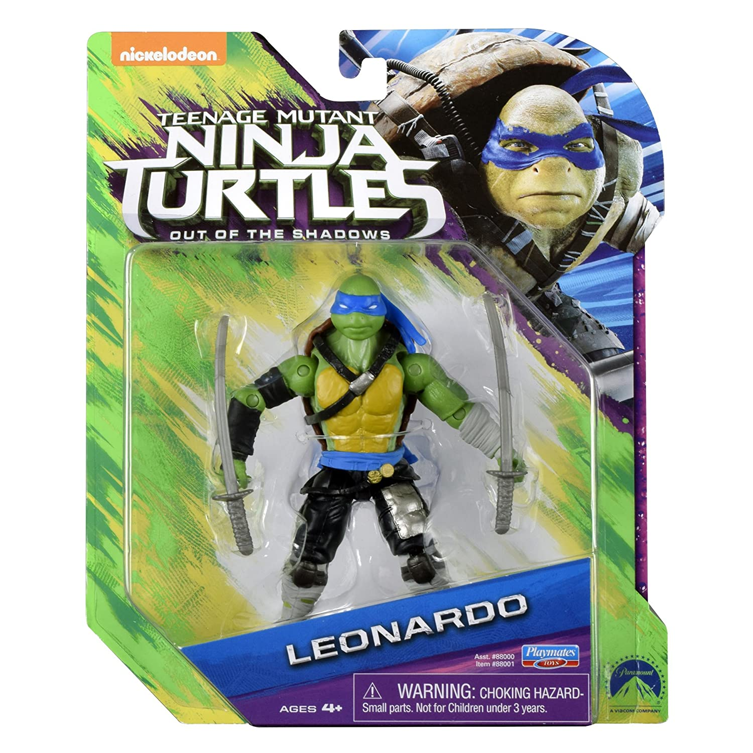 Amazon.com: Teenage Mutant Ninja Turtles, Película 2 ...