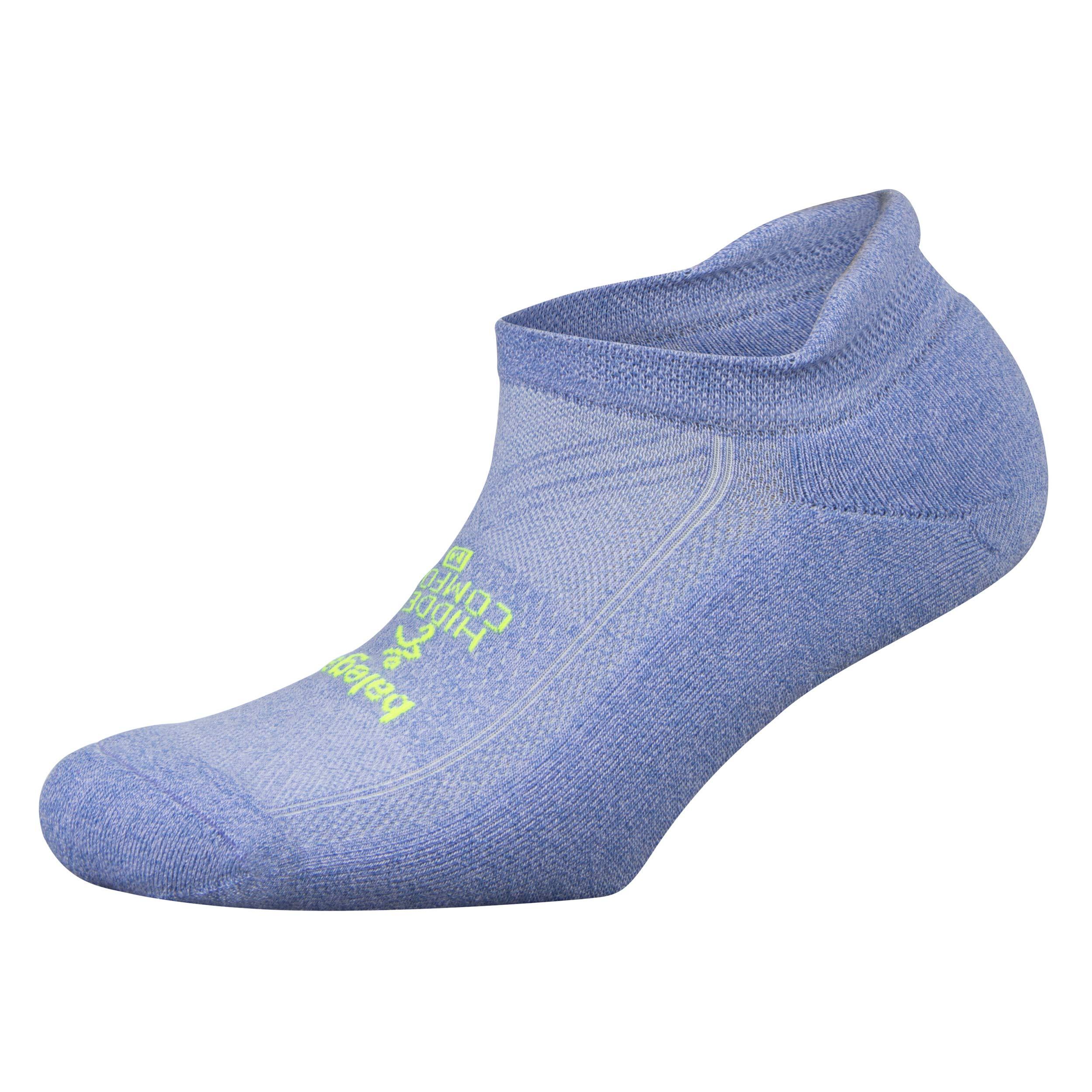 Balega Hidden Comfort No-Show Running Socks for Men and Women (1 Pair), Lilac, Medium