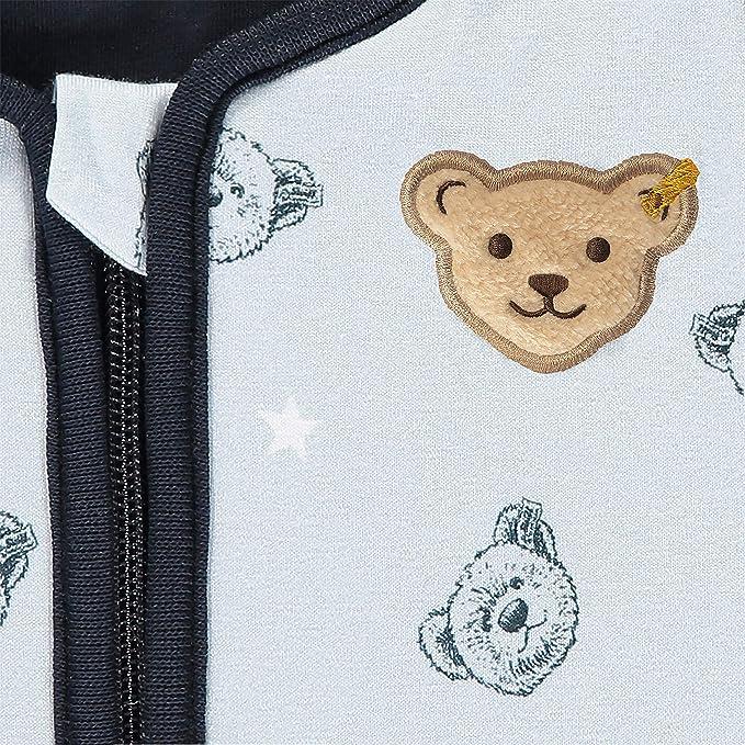 Steiff Baby-Jungen Mit S/ü/ßer teddyb/ärapplikation Strampler