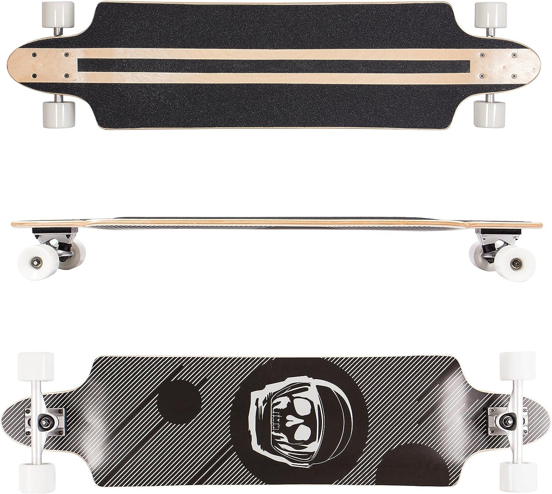 Carving Freeride e Freestyle SportPlus Longboard Skate in Acero Cuscinetti in Cromo ABEC-7| Disponibili in varie forme per tutti i tipi di riding: Cruising Ruote in PUC